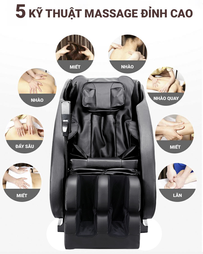 Ghế Massage CareMart NO 500