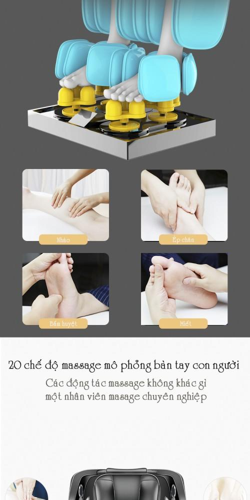Ghế Massage CareMart NO 700