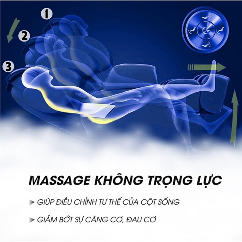 ghế massage caremart vg668
