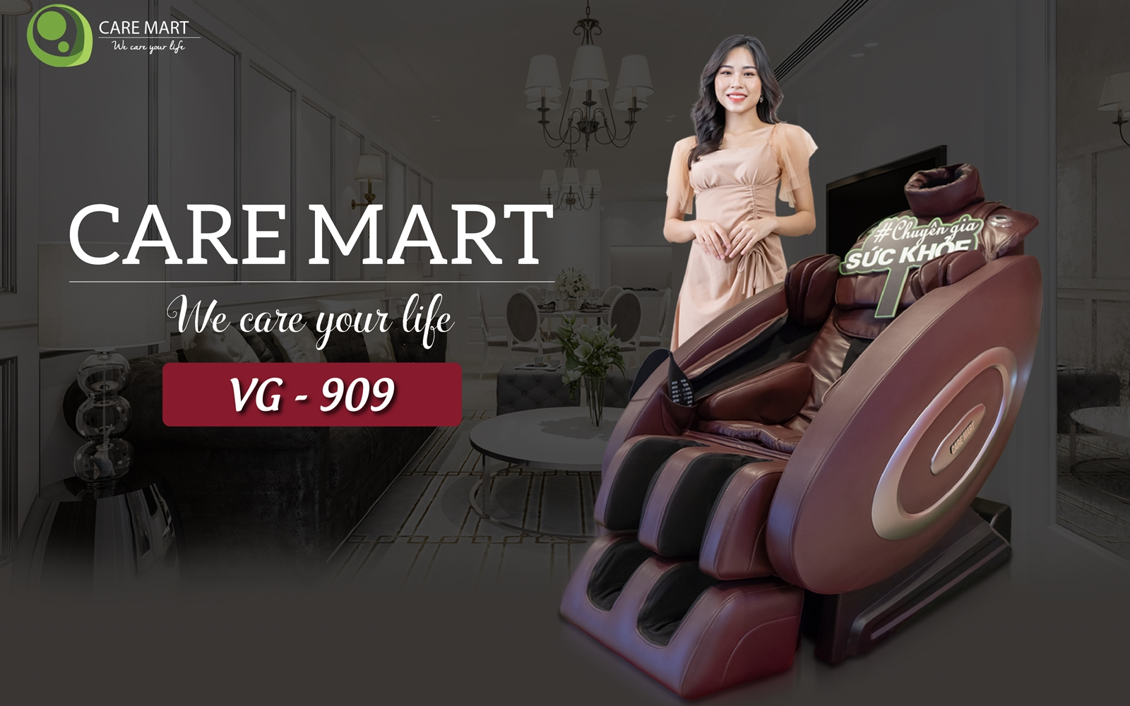 Ghế massage CareMart VG 909